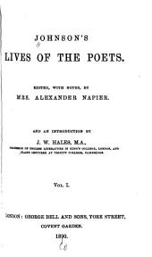 Johnson's Lives of the Poets: Volume 1