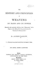 The History and Principles of Weaving PDF