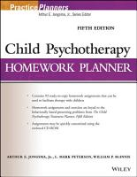 Child Psychotherapy Homework Planner PDF