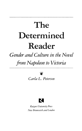 The Determined Reader PDF