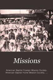 Missions: A Baptist Monthly Magazine ..., Volume 2