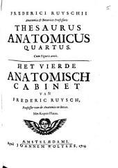 Thesaurus anatomicus quartus [...].: Deel 4