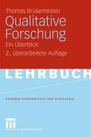 Qualitative Forschung PDF