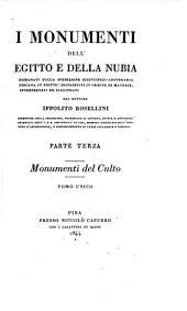 I monumenti dell'Egitto e della Nubia: disegnati dalla spedizione scientifico-letteraria toscana in Egitto; distribuiti in ordine di materie, Volume 3