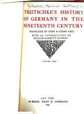 Treitschke's History of Germany in the Nineteenth Century: Volume 2