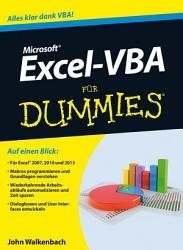 Excel VBA f  r Dummies PDF