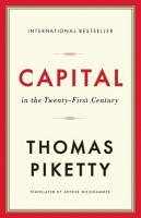 Capital in the Twenty First Century PDF