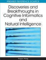 Discoveries and Breakthroughs in Cognitive Informatics and Natural Intelligence PDF