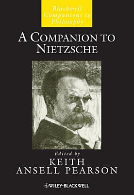 A Companion to Nietzsche PDF