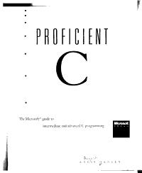 Proficient C PDF