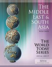 The Middle East and South Asia 2016-2017: Edition 50