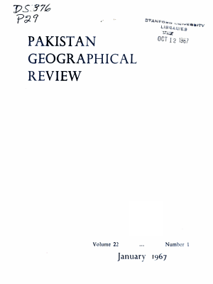 Pakistan Geographical Review