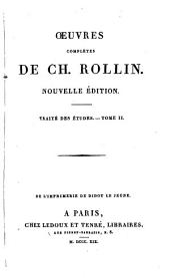 Oeuvres complètes de Ch. Rollin: Volume17