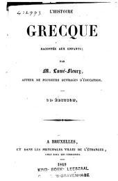 L'histoire grecque racontée aux enfants