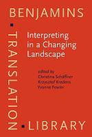 Interpreting in a Changing Landscape PDF