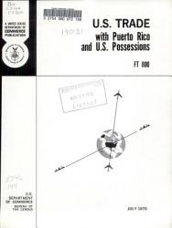 U S  Trade with Puerto Rico and U S  Possessions PDF