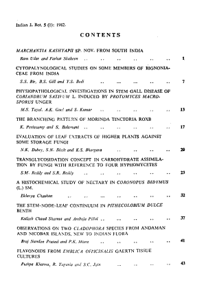 Indian Journal of Botany