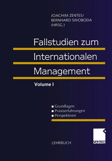 Fallstudien zum Internationalen Management PDF