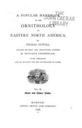 A Popular Handbook of the Ornithology of Eastern North America: Game and water birds