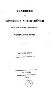 Handbuch der römischen Alterthümer: Die Staatsverfassung
