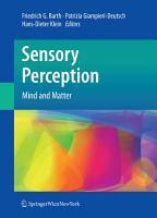 Sensory Perception PDF