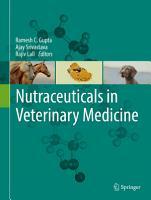 Nutraceuticals in Veterinary Medicine PDF