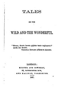 Tales of the wild and the wonderful  by G H  Borrow   PDF