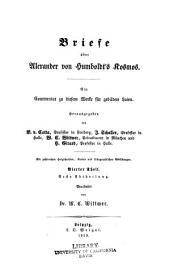 Briefe über Alexander von Humboldt's Kosmos: Ein commentar zu diesem werke für gebildete laien...