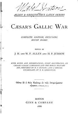 Gallic War PDF