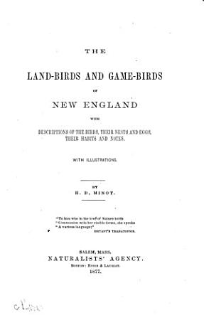 The Land birds and Game birds of New England PDF