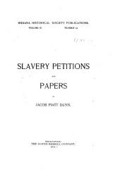 Slavery Petitions and Papers