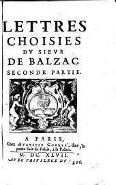 Lettres choisies: Volume 2