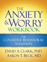 The Anxiety and Worry Workbook PDF