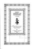 Early American Textbooks  1775 1900 PDF