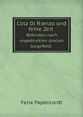 Cola Di Rienzo und feine Zeit