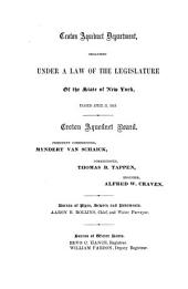 Annual Report of the Croton Aqueduct Department: Volume 11, Part 1859
