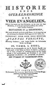 Historie ende over-een-kominge der vier Evangelien ...: Volume 7