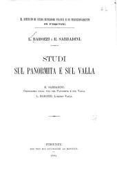 Studi sul Panormita e sul Valla