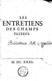 Les entretiens des Champs Elizees