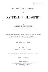 Elementary Treatise on Natural Philosophy: Sound and light