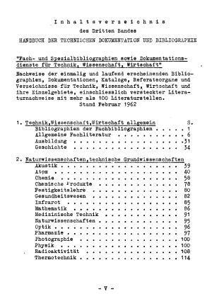 Handbuch der internationalen Dokumentation und Information PDF