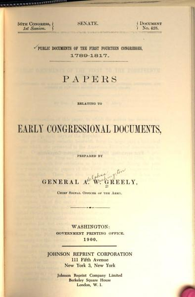 Download Public Documents of the First Fourteen Congresses  1789 1817 Book