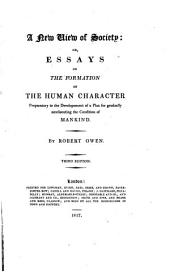 Essays on the Formation of the Human Character