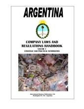 Argentina Company Laws and Regulations Handbook