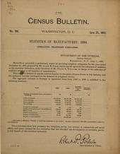 Census Bulletin: Issue 196