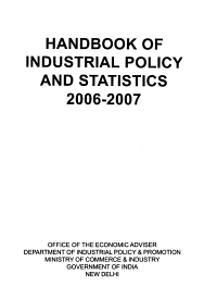 Handbook of Industrial Policy and Statistics PDF