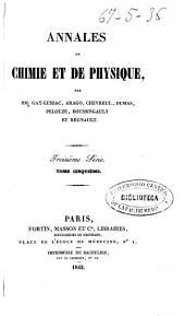 Annales de chimie et de physique: Volume5