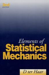 Elements of Statistical Mechanics: Edition 3