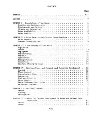 Appraisal Report  Water Resources Appraisal for Hydroelectric Licensing PDF