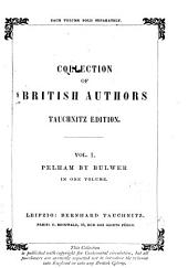 Pelham Or The Adventures of a Gentleman by Edward Bulwer Lytton